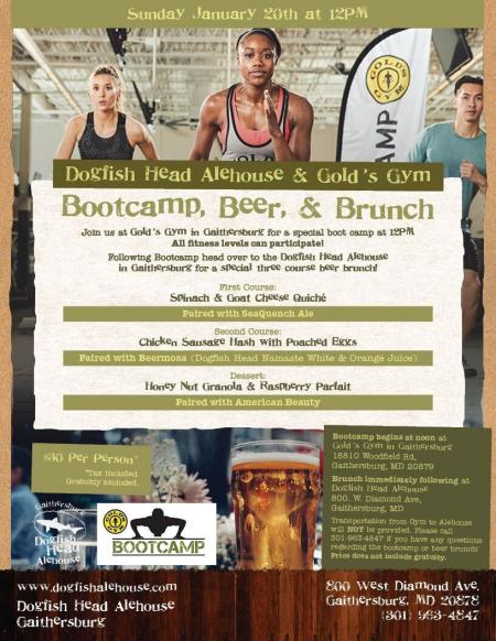 bootcamp beer brunch