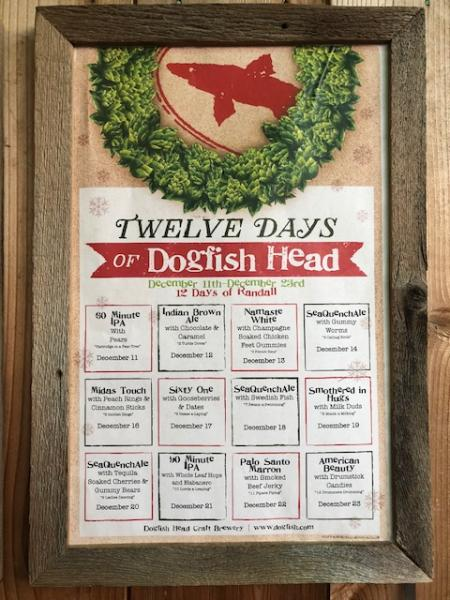 Twelve Days of Dogfish Head