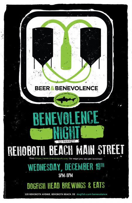 Beer & Benevolence Night benefiting Rehoboth Beach Main Street