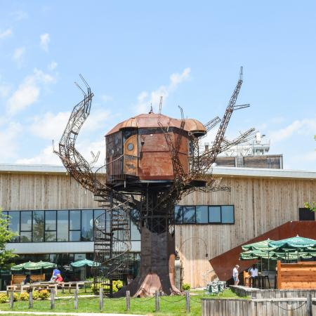 Dogfish Head Steampunk Treehouse