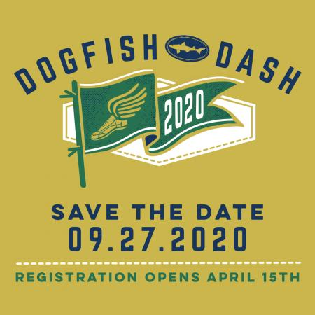 Dogfish Dash Save The Date September 27, 2020