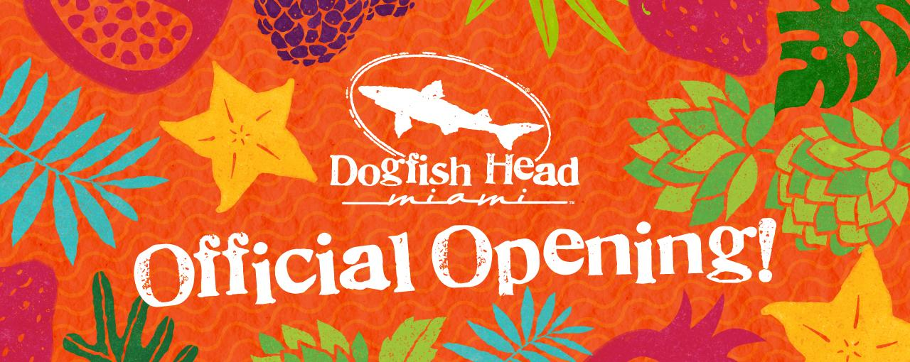 Dogfish head Miami Opening Day