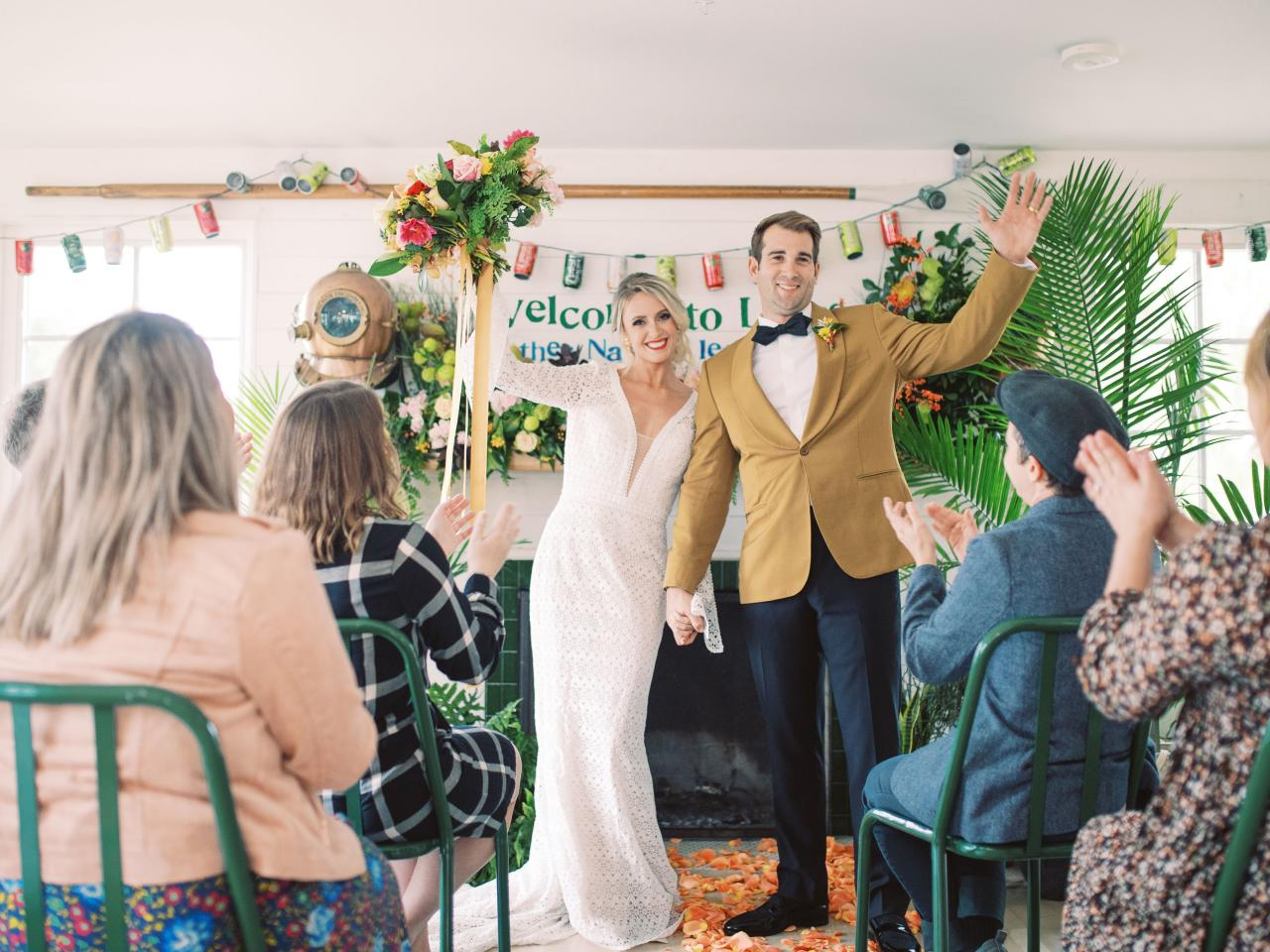 Intimate Ceremony at the Dogfish Inn