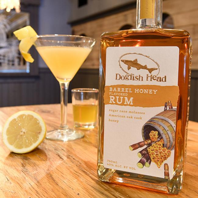 Rum Bees Knees Barrel Honey Rum