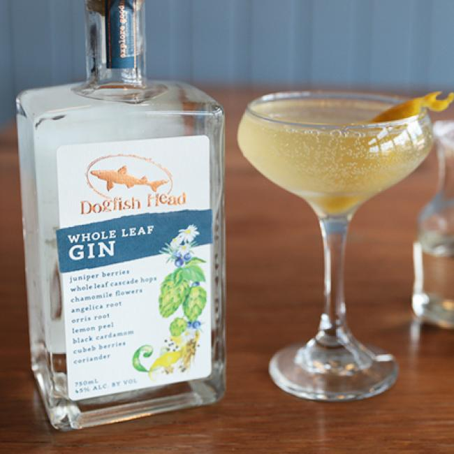 French 75 Whole Leaf Gin