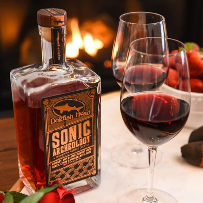 Sonic Archeology & Red Wine cocktail
