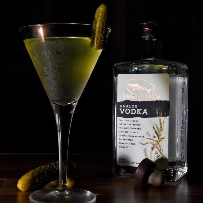 Dill Pickle Martini