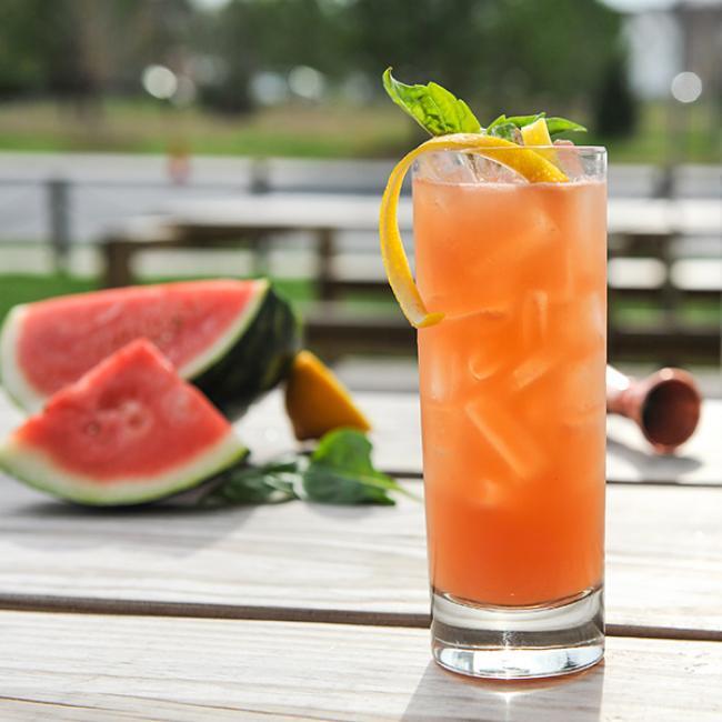 Watermelon Basil Smash