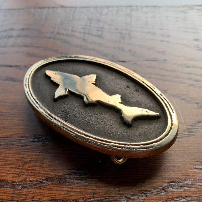 Dogfish Belt Buckle 1