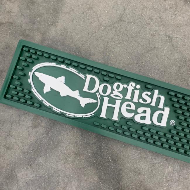 Dogfish Head Green Bar Rail Mat