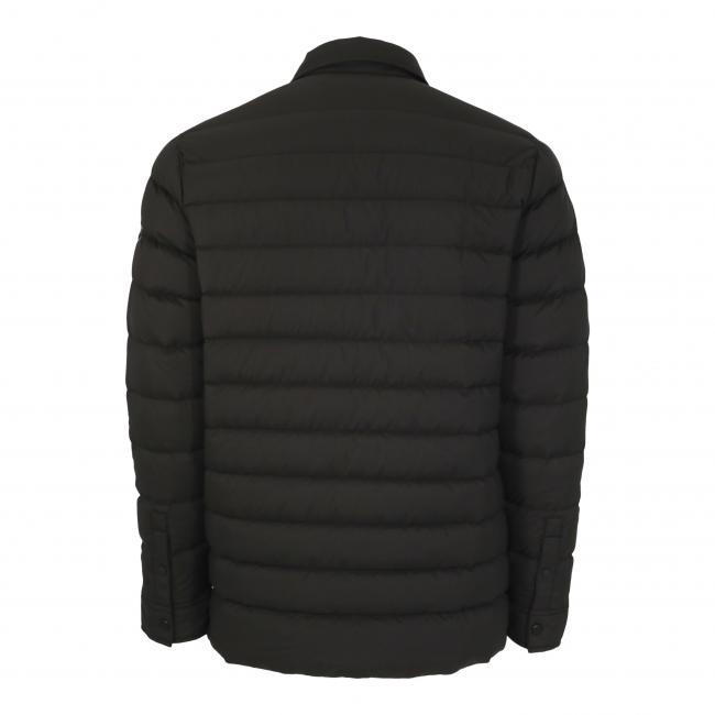 Silent Down Shirt Jacket Back
