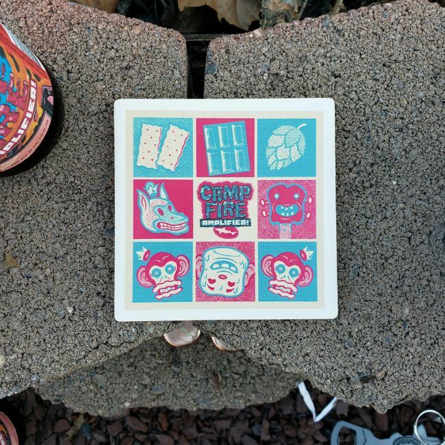 Campfire Amplifier Coaster