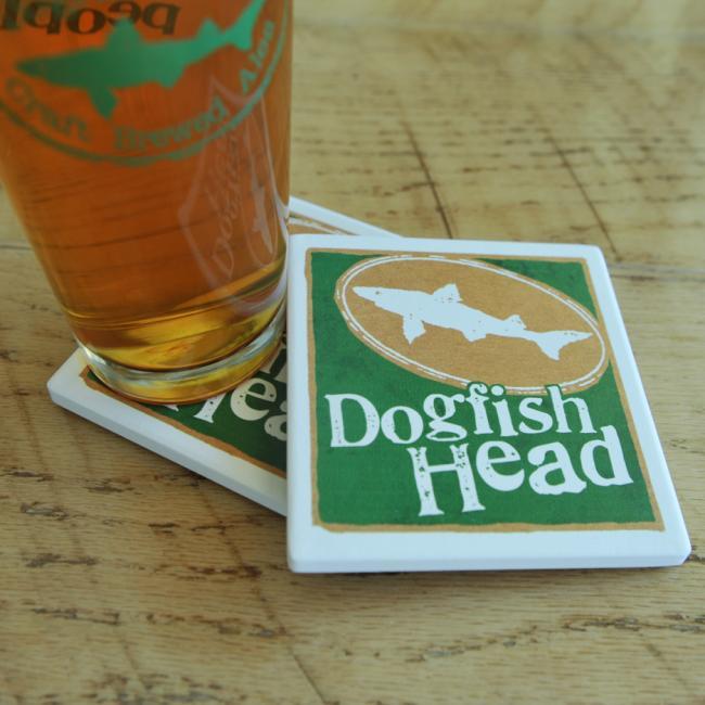 Dogfish Head General Brand Coaster