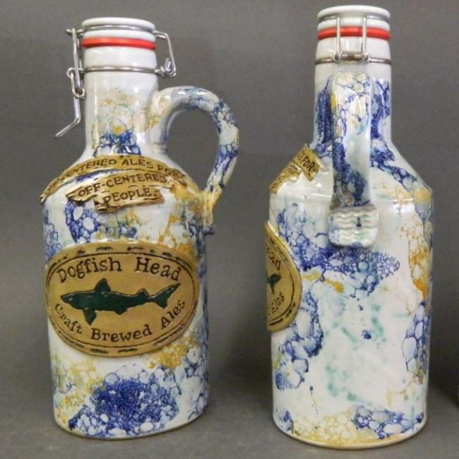 Dogfish Ceramic Bubble Growler