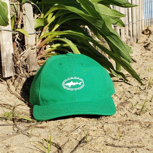 Green Shark & Shield Cap