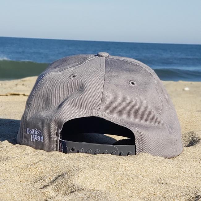 Grey Snapback hat