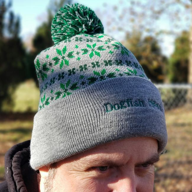 Dogfish Head 60 Minute Inspired Fair Isle Pom Hat