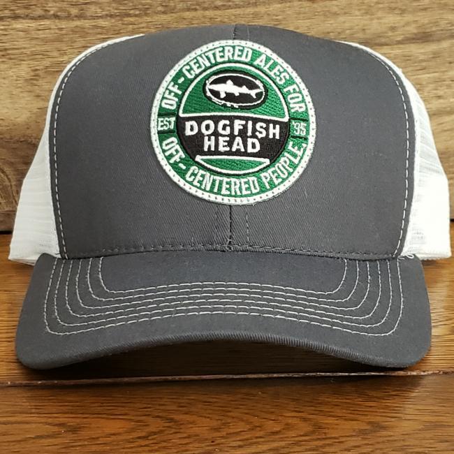 Grey Trucker Circle Patch