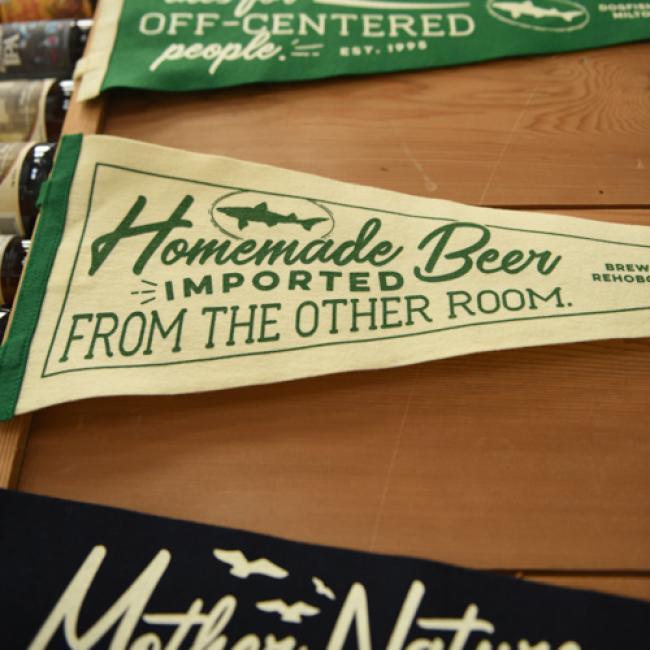 Homemade Beer Pennant 2