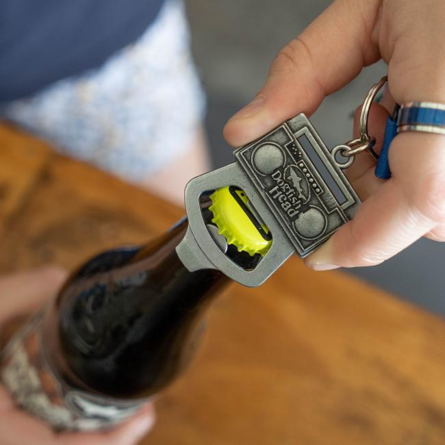 Boombox Keychain opener
