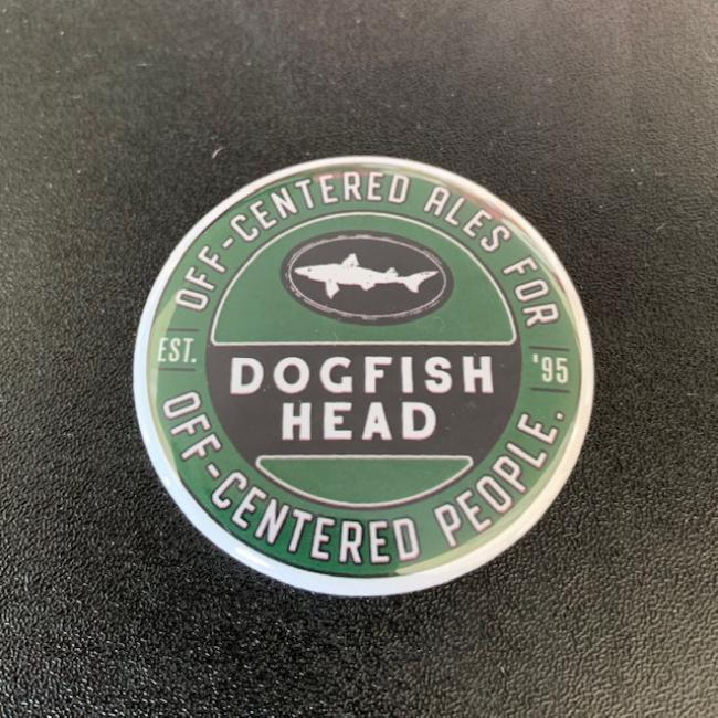 Dogfish Head Metal Logo Magnet
