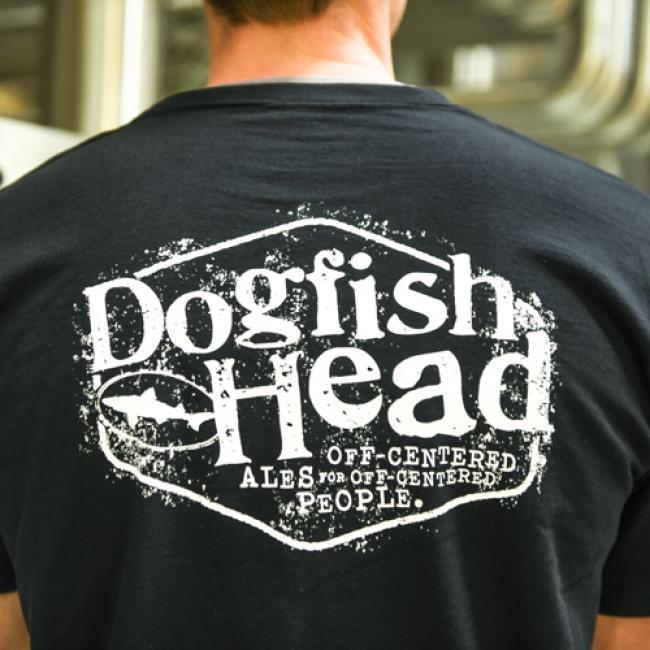 Dogfish Head Black Hexagon Tee