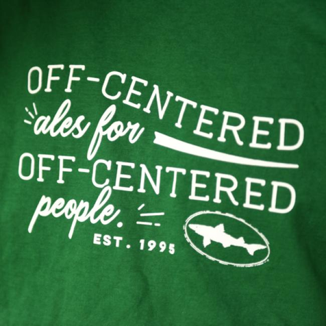 Green Off-centered Ales Longsleeve Tee