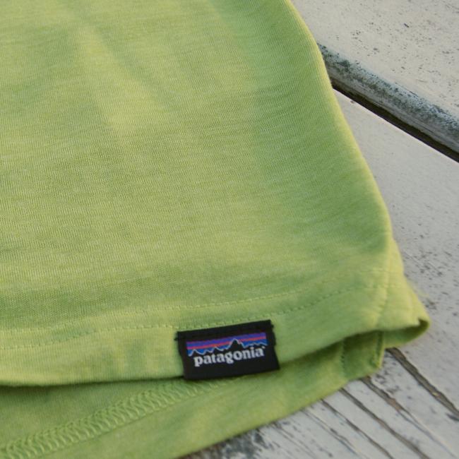 Patagonia woven label closeup