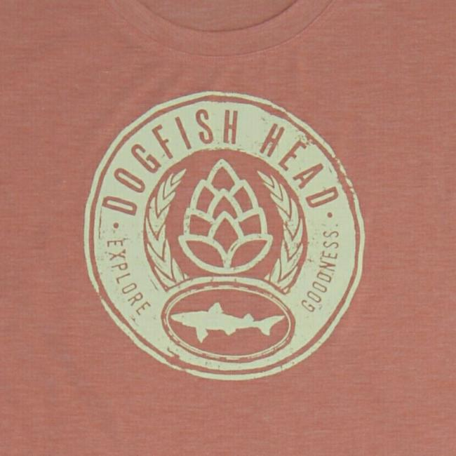 Patagonia Cool Trails Dogfish Head Screen Printed Tee Close up