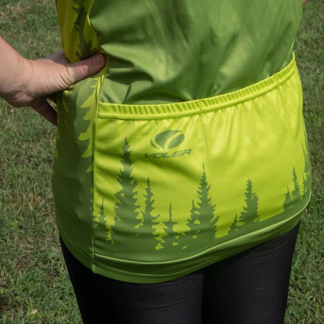 Bike Jersey Back Pocket