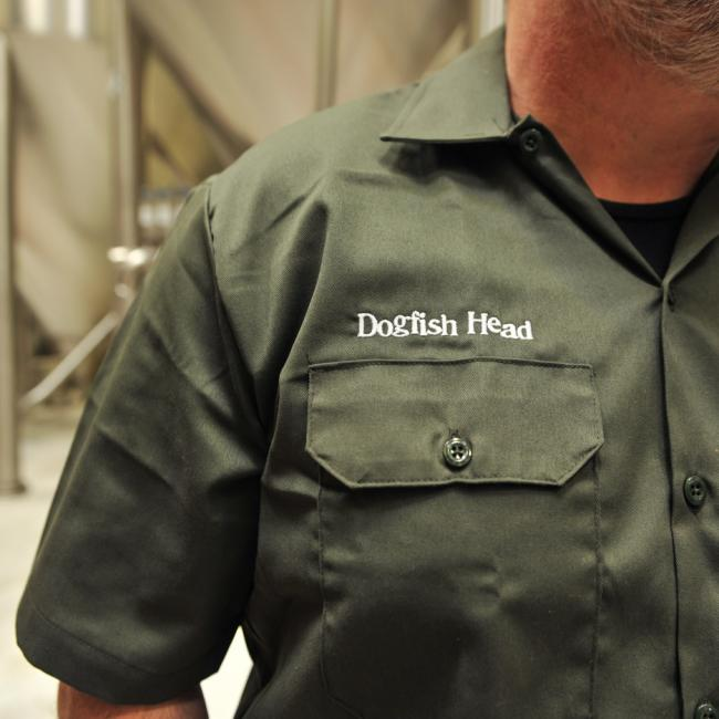 Olive Brewers Work Shirt