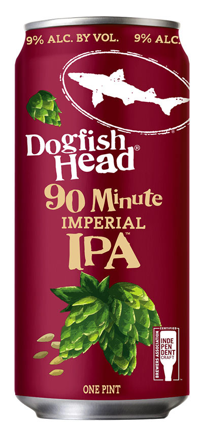 Dogfish Head 90 Minute IPA Can
