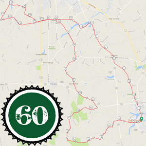 About I Pedal Alot - 60k route